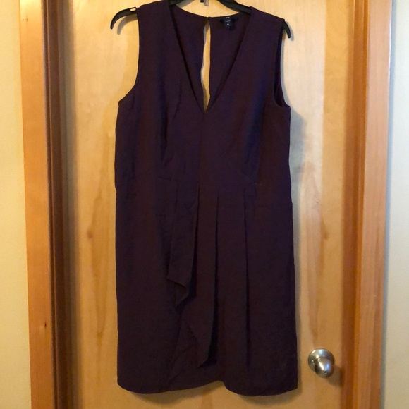 GAP Dresses & Skirts - Purple dress fits really well